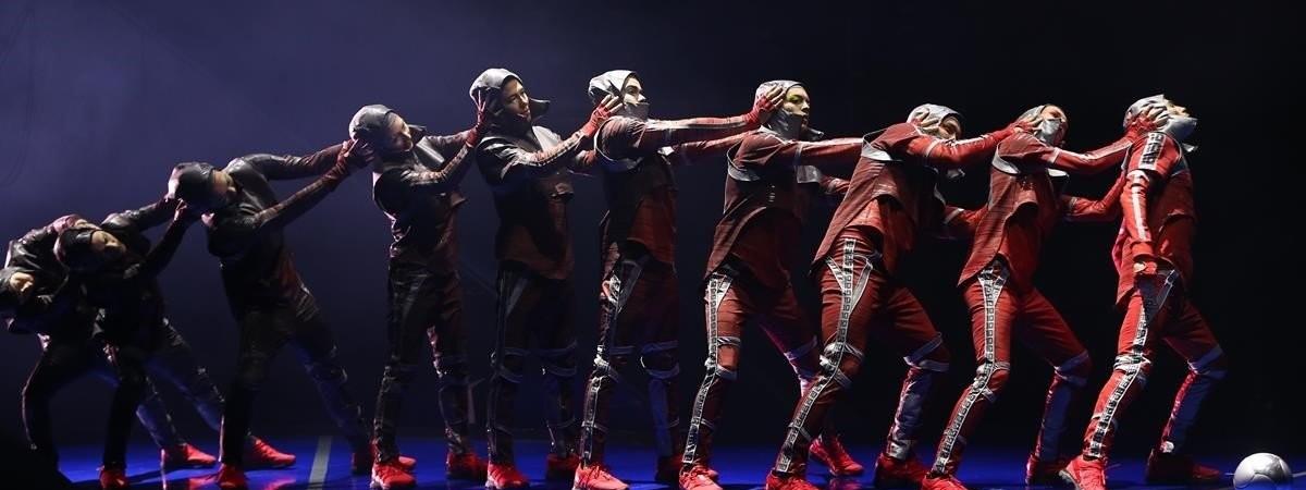 Messi Cirque du Soleil